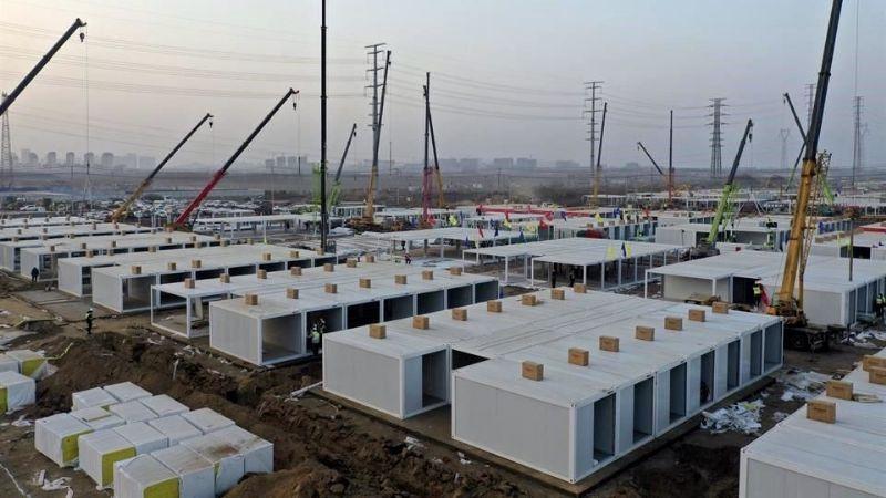 China vuelve a construir hospital para pacientes de Covid-19 ante aumento de casos