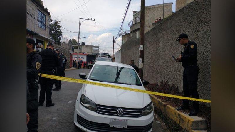 Sujetos desconocidos asesinan de varios disparos a un hombre en Tlalpan