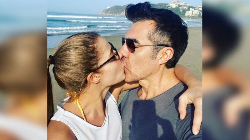 """Adrián Uribe y su novia Thuany Martins presumen a Emily, """"el gran resultado de su amor"""""""