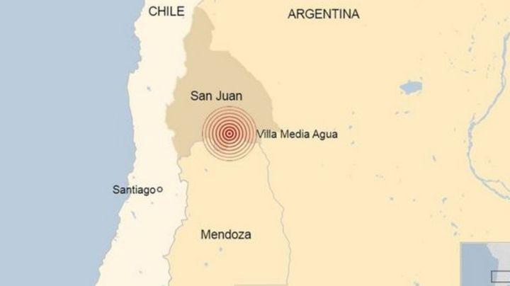 VIDEOS: Así fue el sismo de 6.4 que azotó a Argentina; reportan daños y heridos