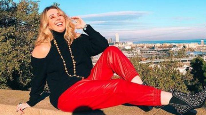 Tras negar regreso a TV Azteca, Atala Sarmiento se luce más guapa que nunca en 'Sale el Sol'