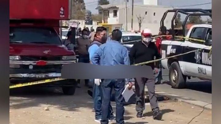 Presunto ladrón es abatido a balazos luego de resistirse a un arresto en Puebla