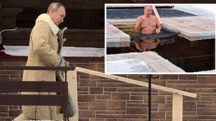 El presidente de Rusia, Vladimir Putin, celebra la Epifanía sumergido en agua helada: VIDEO