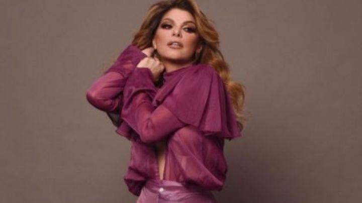 ¡Itatí Cantoral se une a la moda rosa! Descubre cómo logro combinar este tono con su 'outfit'