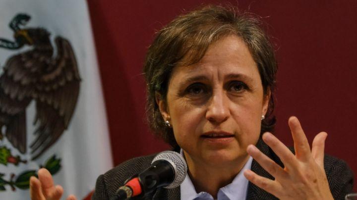 """""""¿Son unos pende… los de la DEA?"""": Carmen Aristegui al fiscal de la República"""
