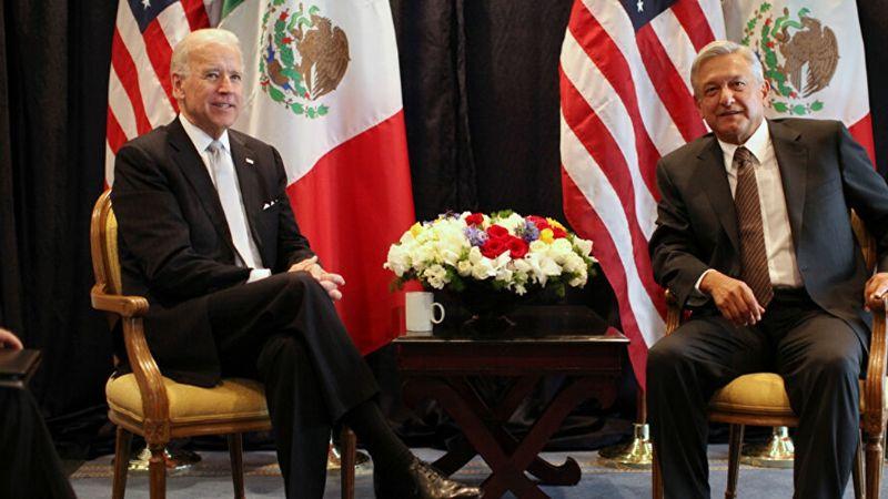 Revelan detalles de la primera llamada telefónica entre Joe Biden y AMLO