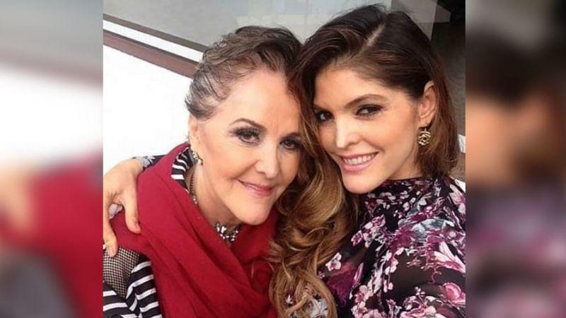 Ana Bárbara se sale nuevamente con la suya al 'burlar' a su mamá con este maquillaje