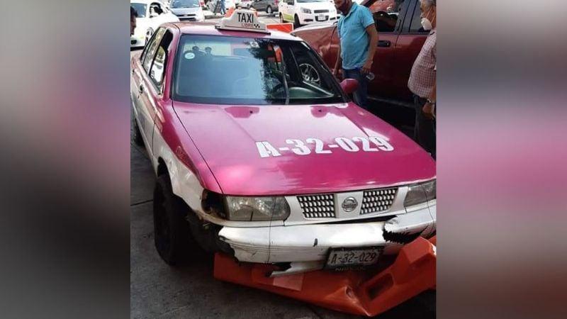 Hombre pierde la vida arriba de un taxi a causa de un posible infarto en la Cuauhtémoc