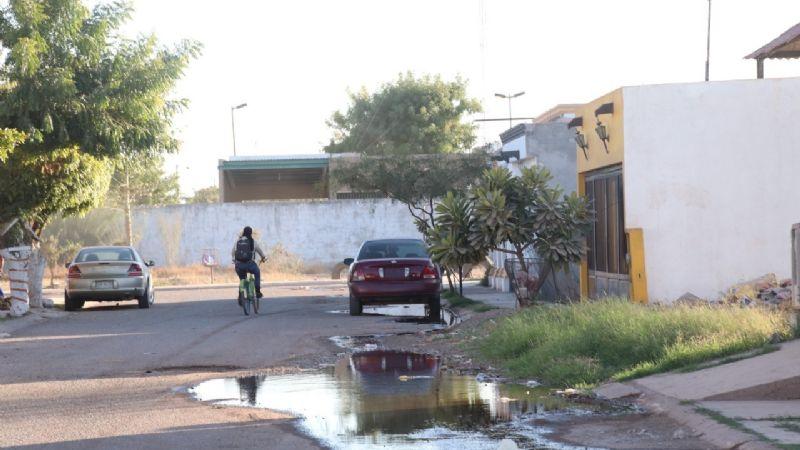 Ciudad Obregón: Oomapas sigue sin reparar fuga en Puerta de Hierro