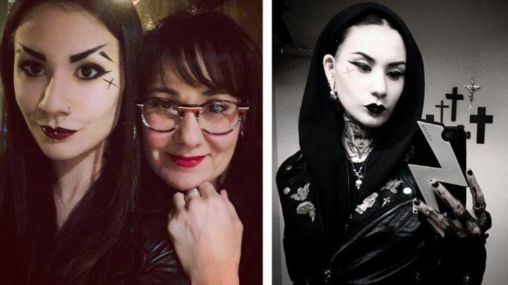'Matilda la Muerta', hija de Mónica Garza, impacta al mostrar cómo lucía sin tatuajes