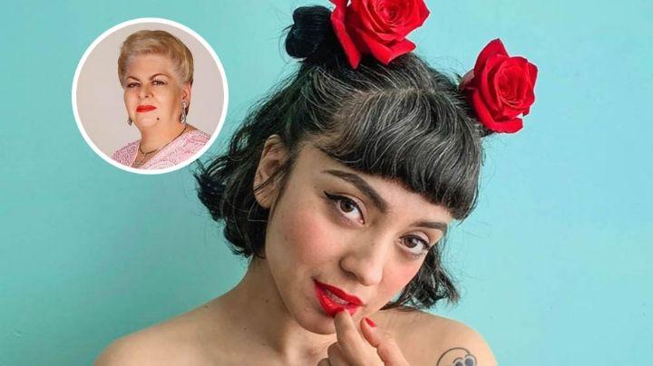 Mon Laferte sueña por un dueto con Paquita la del Barrio, quien dice no conocerla