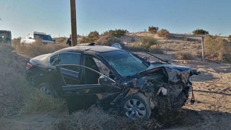 Muere joven de 17 años en accidente carretero entre SLRC y Golfo de Santa Clara