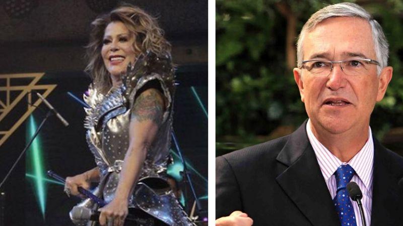 Hacen pedazos a Alejandra Guzmán por su físico en show de TV Azteca; Salinas Pliego la defiende