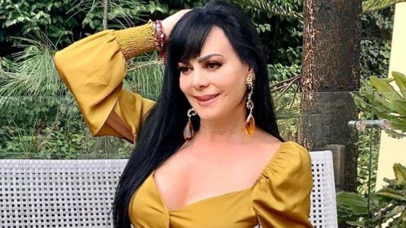 Tras padecer Covid-19, Maribel Guardia recibe al 2021 en playas de Acapulco