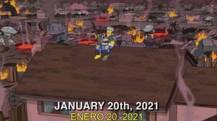 Internautas enloquecen debido a que 'Los Simpson' afirman que hoy es el 'Apocalipsis'