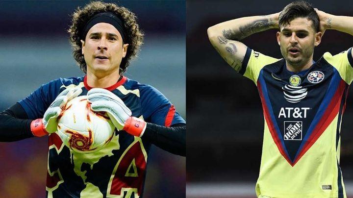 Ochoa y Benedetti del Club América, con síntomas de Covid-19 tras duelo ante Rayados