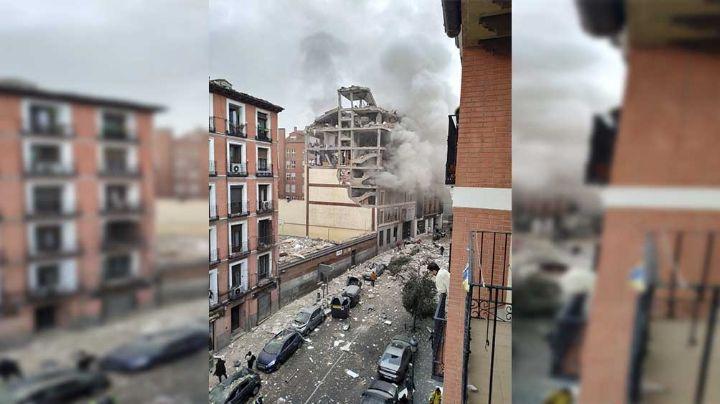 Una trágica explosión de un asilo de ancianos de Madrid deja saldo de tres muertos