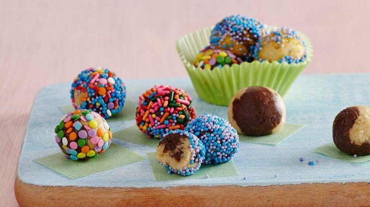 ¡Una alegría para el paladar! Estas trufas de galleta serán la locura de tu hogar