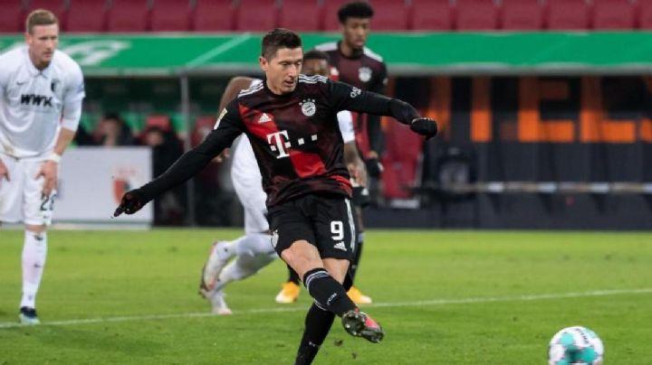 Lewandowski afianza al Bayern en la cima de Alemania con gol histórico