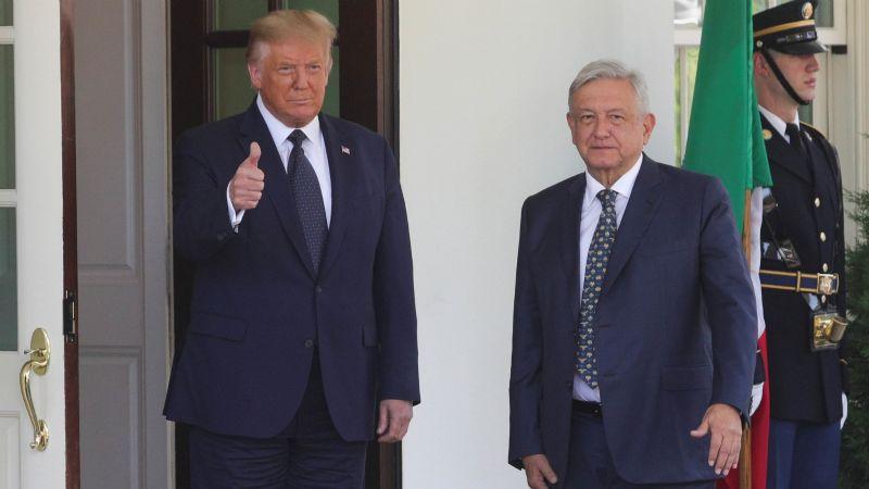 """AMLO: """"No pude despedirme de Trump, pero en general la relación fue muy buena"""""""