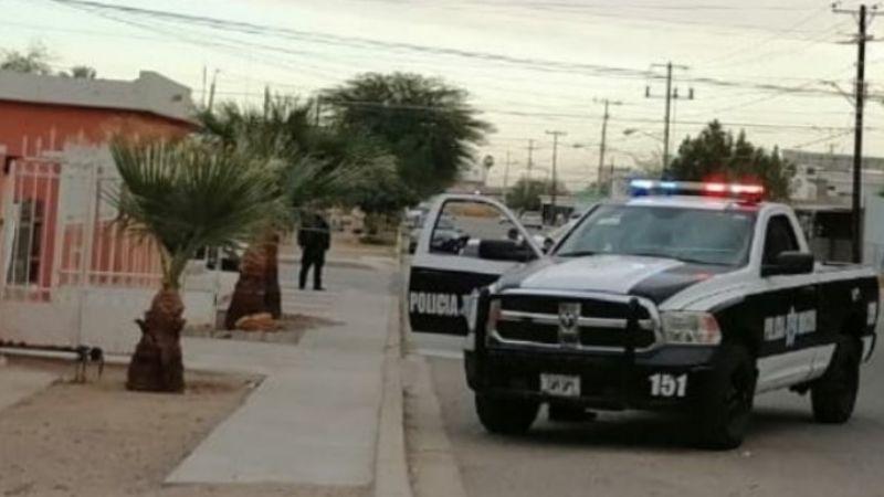 Ataque armado deja entre la vida y la muerte a un joven de 20 años en Caborca