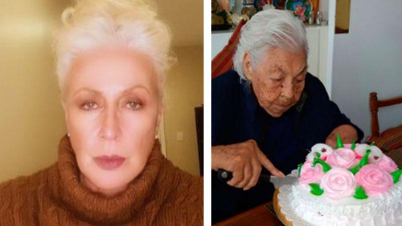 """""""Casi me la entregan muerta"""": Laura Zapata revela que su abuela pudo ser violentada en asilo"""