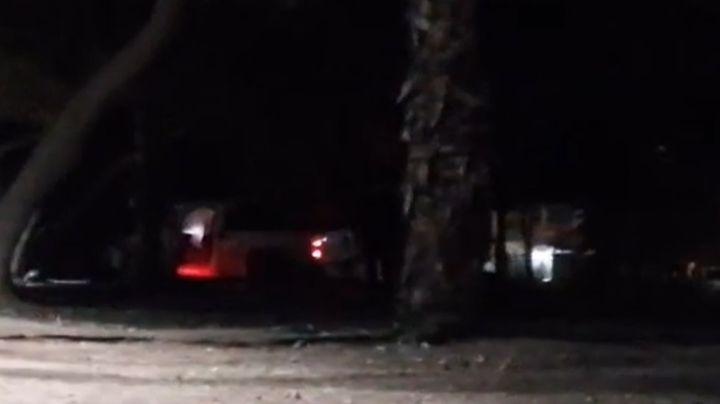 Cajeme: Camioneta baleada y abandonada causa terror en la colonia Las Areneras