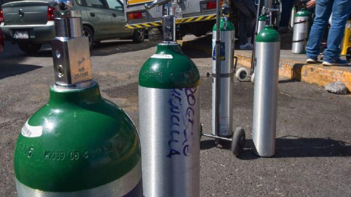 Alertan en redes de estafa a usuarios en venta y renta de tanques de oxígeno en México