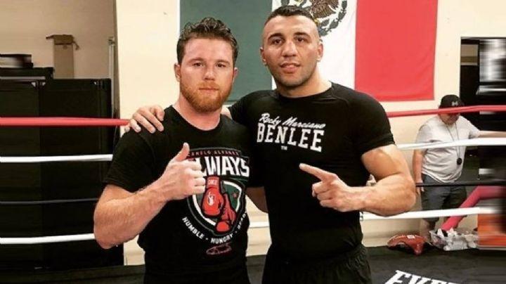 Rival del 'Canelo' Álvarez lo conoce bien; fue su sparring hace tres años