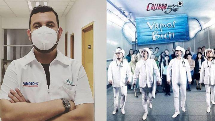 Covid-19 llega al regional mexicano; vocalista de Calibre 50 relata lo difícil del homenaje