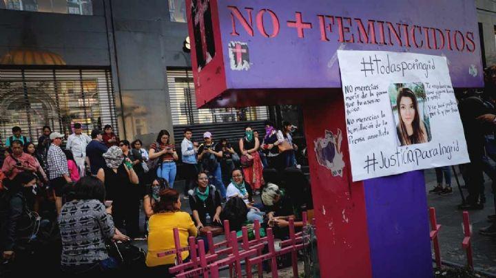 2020, el año con más feminicidios en México desde 2015