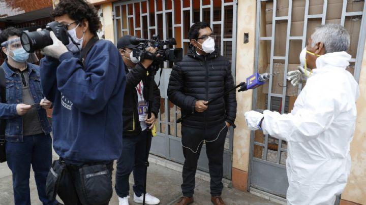 México es el tercer país con más periodistas fallecidos a causa del Covid-19