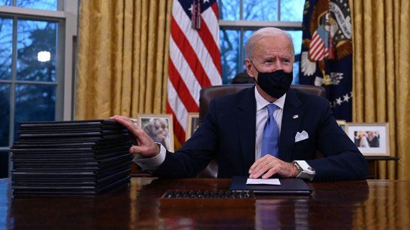 Así luce la Oficina Oval con la redecoración del presidente Joe Biden