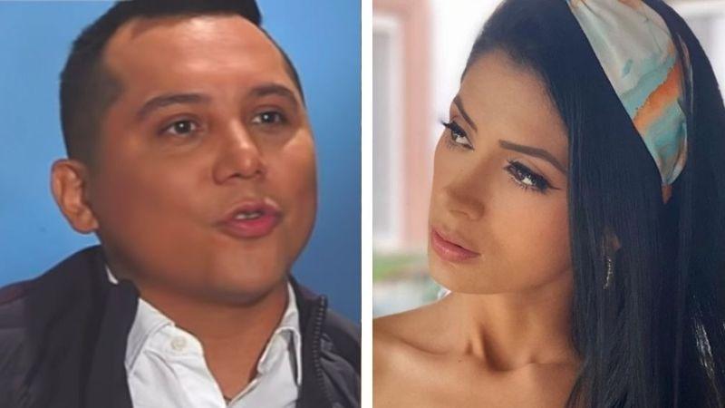 VIDEO: Kimberly Flores le revisa el celular a Edwin Luna y le hace terrible escena de celos
