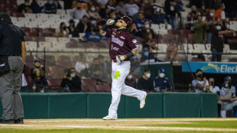 Sebastián Elizalde es el Jugador Más Valioso de la Liga Mexicana del Pacífico