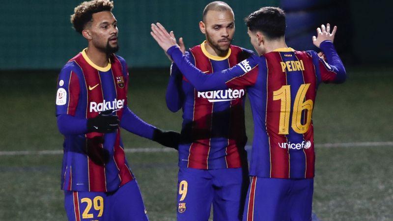 El Barcelona evita el ridículo y se impone ante el Cornellà en Copa del Rey