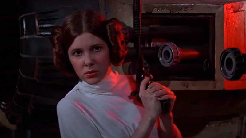 VIDEO: Millie Bobby Brown encanta a los fans de 'Star Wars' como la 'Princesa Leia'