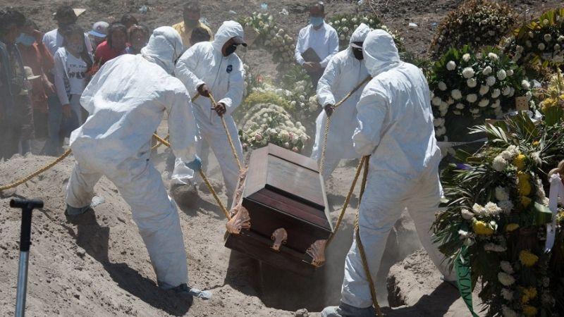 Reportan que en Ciudad de México mueren 201 personas al día a causa del Covid-19