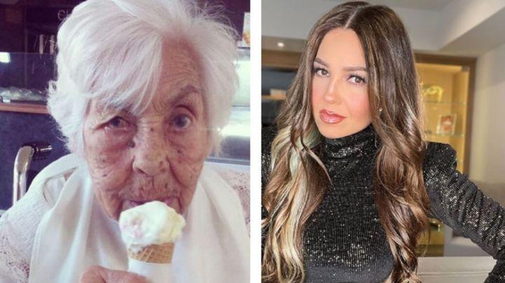 """Thalía rompe el silencio y habla de los maltratos que vivió su abuela: """"Está delicada"""""""