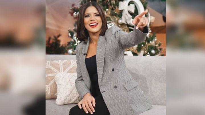 VIDEO: Tras días con ropa holgada, conductora de Univision confirmaría su embarazo