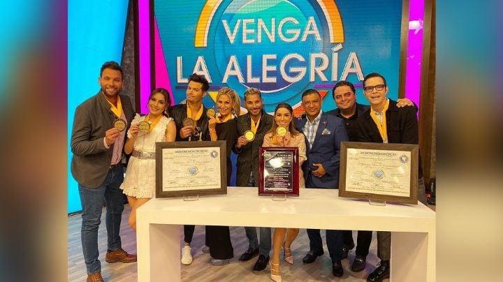 ¡Tómala 'Hoy'! 'Venga la Alegría' recibe importante premio en vivo de TV Azteca