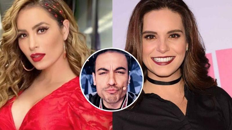 Tras dejar 'VLA' por Televisa, Tania Rincón traiciona a Cynthia y se 'tatúa' a Carlos Rivera