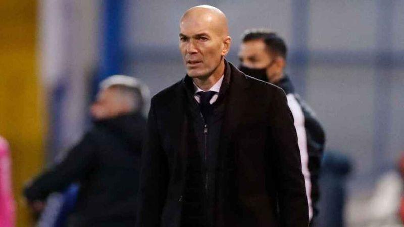 Real Madrid, en crisis hasta de Covid-19: Zinedine Zidane da positivo