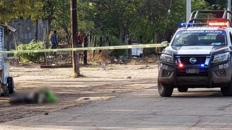 Guaymas: Las Guásimas, conmocionada por la presencia de un cadáver en la vía pública