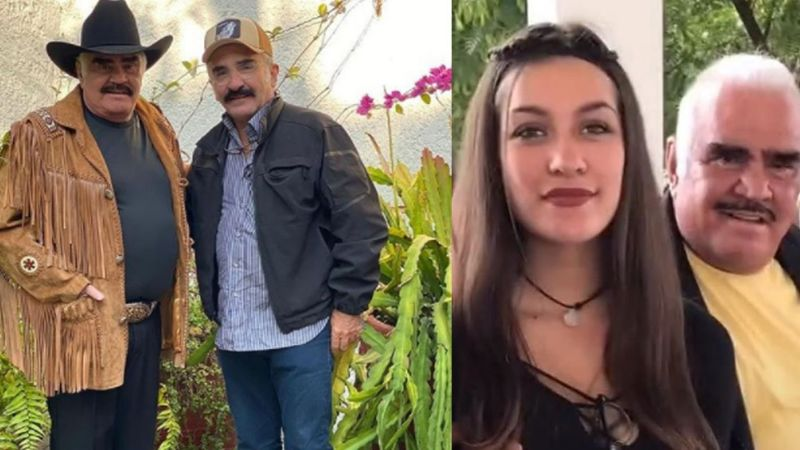 Vicente Fernández Jr. da la cara por el escándalo que mancha la imagen de su padre