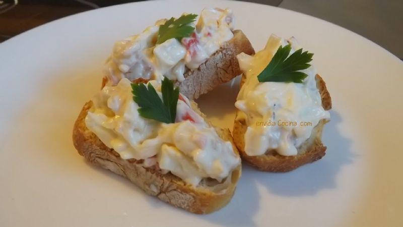 ¿No sabes qué preparar para la tarde de series? Este 'snack' de surimi cremoso podría ser una gran opción