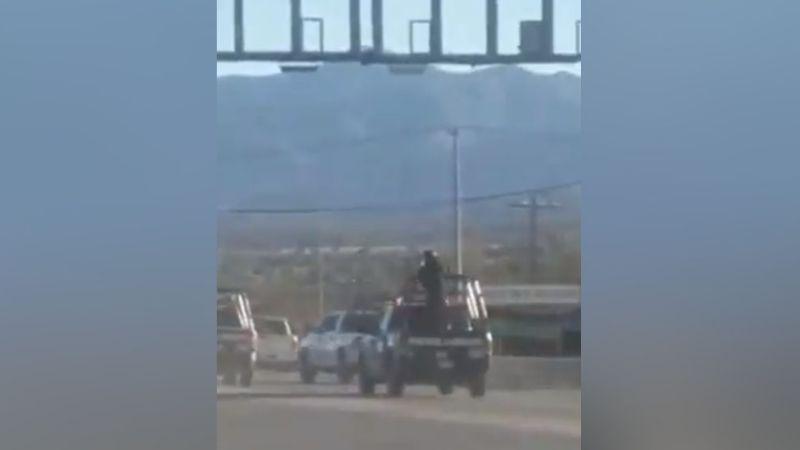 VIDEO: Así se vivió la balacera entre un grupo delictivo y policías en Nogales