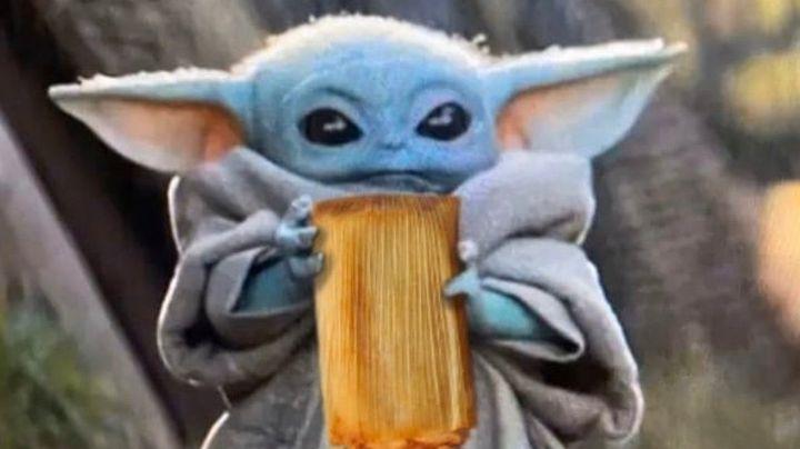 ¡Hay tamales de 'Baby Yoda' y todos quieren probar su sabor de otra galaxia!