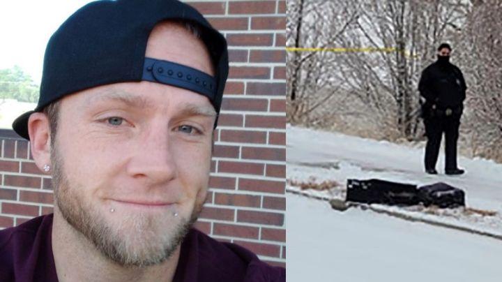 FOTO: Descuartiza a hombre y mete el cadáver en maletas; este grave error hace que lo atrapen