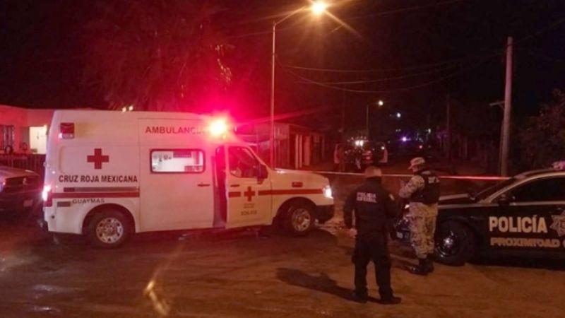 Comando armado acribilla a hombre dentro de una vivienda en Guaymas